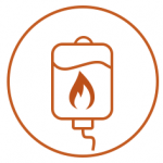 Fat Burn Bag Icon
